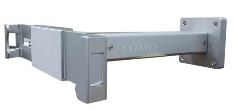 挂牆平板帶鎖展示支架 帶鎖防盜7-13寸平板夾具 6