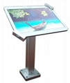 Wall-mounted Ipad Kiosk,Universal Desktop android tablet kiosk