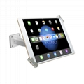 Wall-mounted Ipad Kiosk,Universal Desktop android tablet kiosk 2