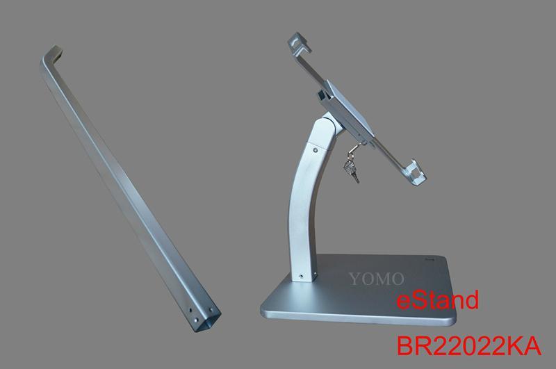 Desktop bracket for Ipad ,Portable Desktop Tablet Kiosks 4