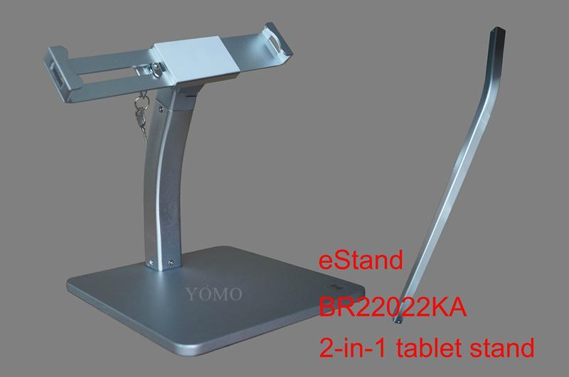 Desktop bracket for Ipad ,Portable Desktop Tablet Kiosks 5
