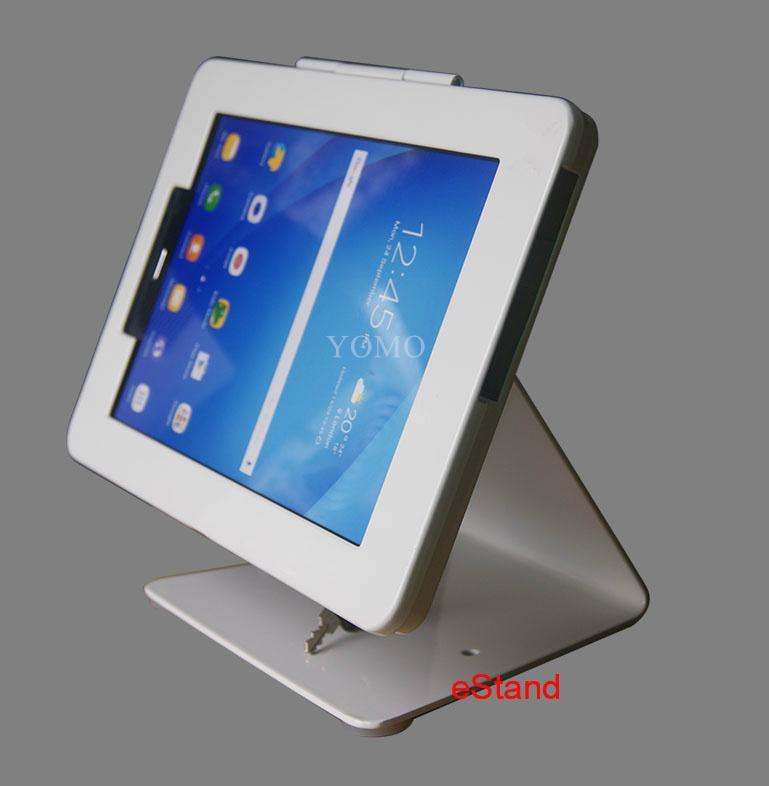 L shape base desktop bracket for Ipad ,Desktop 10'' Android Tablet Kiosks 2