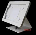L shape base desktop bracket for Ipad ,Desktop 10'' Android Tablet Kiosks
