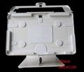 L shape base desktop bracket for Ipad ,Desktop 10'' Android Tablet Kiosks 8