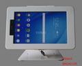 L shape base desktop bracket for Ipad ,Desktop 10'' Android Tablet Kiosks 4