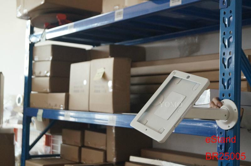货架IPAD夹 超市仓库电子展示 螺丝防盗平板夹 4