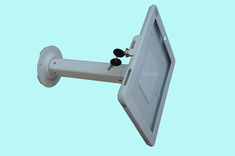 貨架IPAD夾 超市倉庫電子展示 螺絲防盜平板夾 1