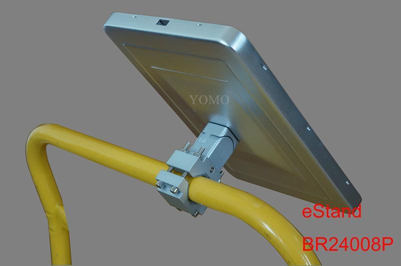 Ipad Brackets/Kiosk Installed on cylinder of the shopping trolley Ferris wheel   7