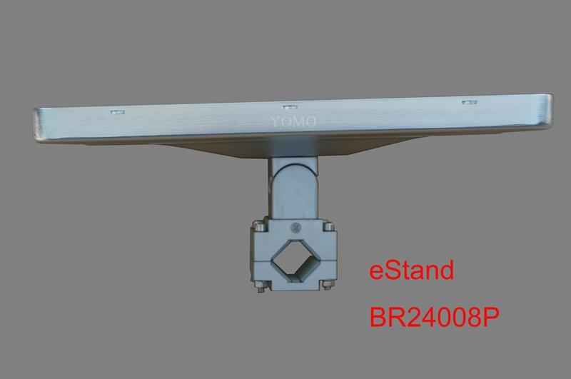 IPAD,IPAD PRO平板電腦支架 固定于購物車 摩天輪的圓柱上 8