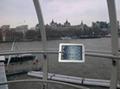 Ipad Brackets/Kiosk Installed on cylinder of the shopping trolley Ferris wheel   3