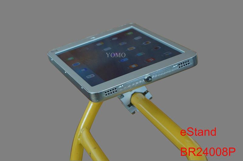 IPAD,IPAD PRO平板電腦支架 固定于購物車 摩天輪的圓柱上 9
