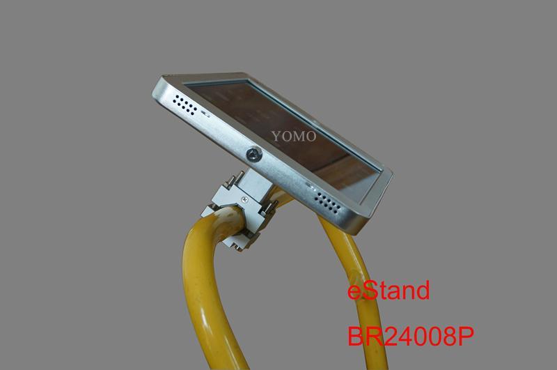 Ipad Brackets/Kiosk Installed on cylinder of the shopping trolley Ferris wheel   10