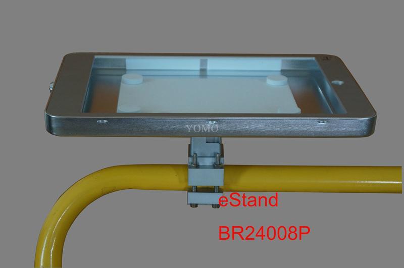 IPAD,IPAD PRO平板電腦支架 固定于購物車 摩天輪的圓柱上 11