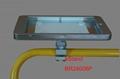 Ipad Brackets/Kiosk Installed on cylinder of the shopping trolley Ferris wheel   11