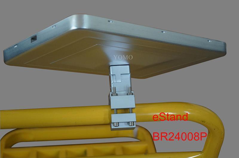 IPAD,IPAD PRO平板电脑支架 固定于购物车 摩天轮的圆柱上 12