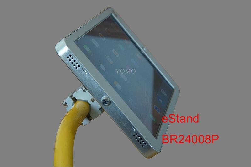 IPAD,IPAD PRO平板电脑支架 固定于购物车 摩天轮的圆柱上 13