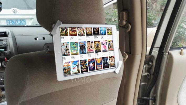 Tablet car mount kiosk tablet kiosk for automobile 3
