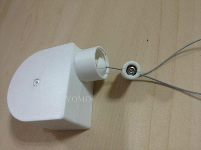 眼鏡防盜鋼絲拉線盒 自動伸縮拉線鎖 易拉得 12