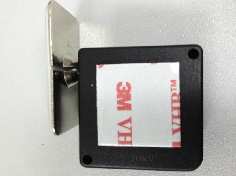防盗展示钢丝拉线盒 易拉扣 自动伸缩盒 5