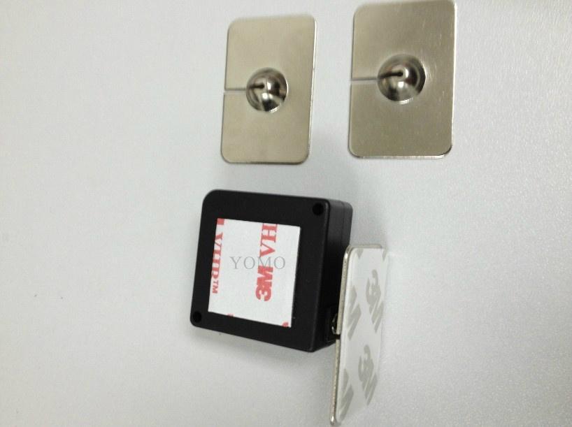 防盗展示钢丝拉线盒 易拉扣 自动伸缩盒 2