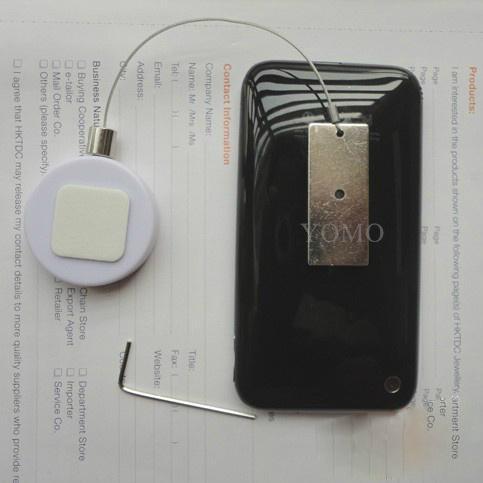 手机展示防盗器 手机防盗绳 伸缩防盗链 商品防盗器  5