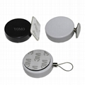 Round Anti-Theft Display Pull Box with round disk end