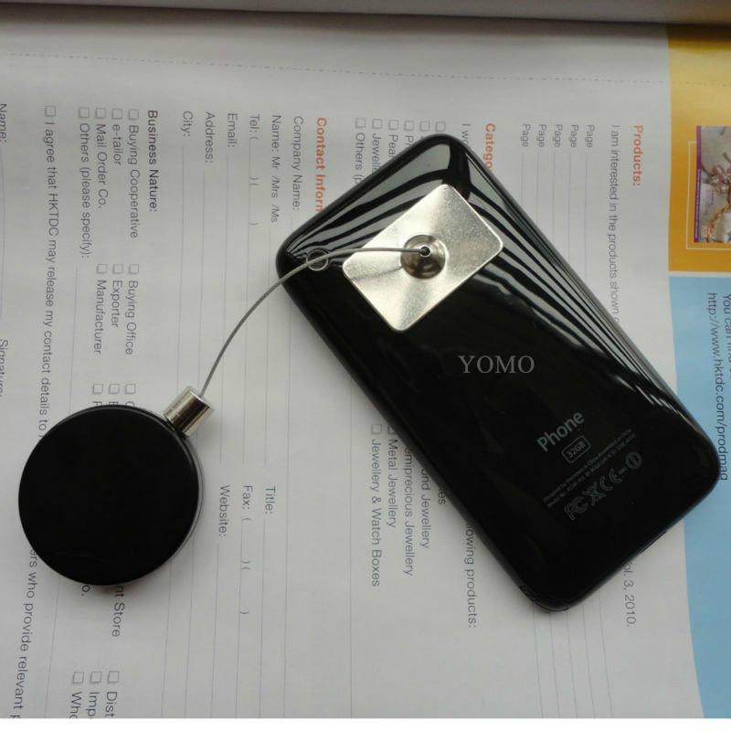 手机展示防盗器 手机防盗绳 伸缩防盗链 商品防盗器  6