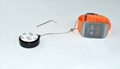 Plastic round retail security tether  with loop end