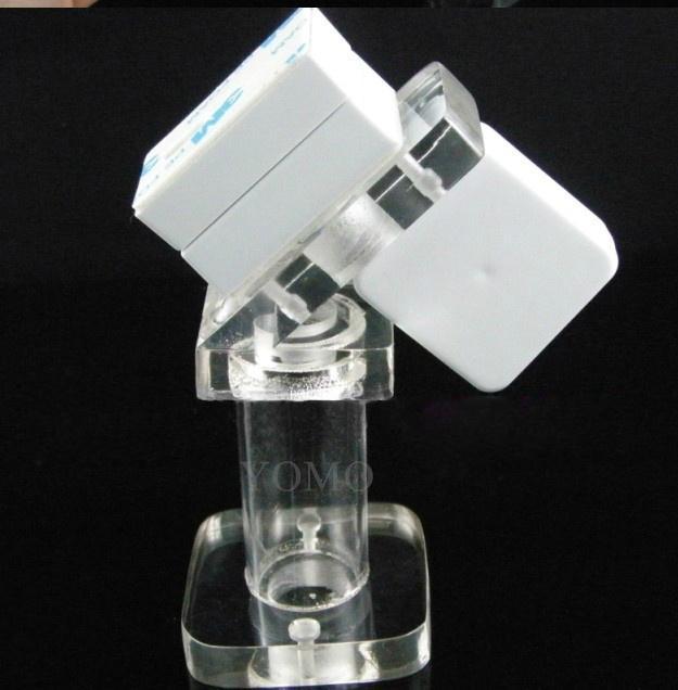 手機鋼絲繩防盜展示架 手機模型展示架 手機防盜支架 7