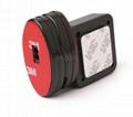 防盜拉線器 自動伸縮防鏈 鋼絲繩拉線盒 收線器 易拉扣 防盜盒  6