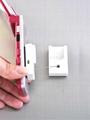 防盜拉線器 自動伸縮防鏈 鋼絲繩拉線盒 收線器 易拉扣 防盜盒  1