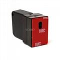 防盜拉線器 自動伸縮防鏈 鋼絲繩拉線盒 收線器 易拉扣 防盜盒  9