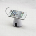 Standalone Power and Alarm Display Stand for Cellphone