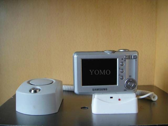 Self-Alarm Security Display Holder for Camera or Cellphone