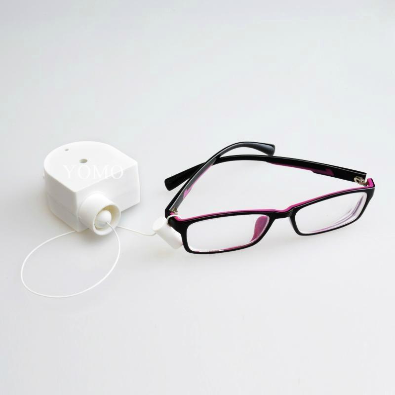 眼鏡防盜鋼絲拉線盒 自動伸縮拉線鎖 易拉得 1