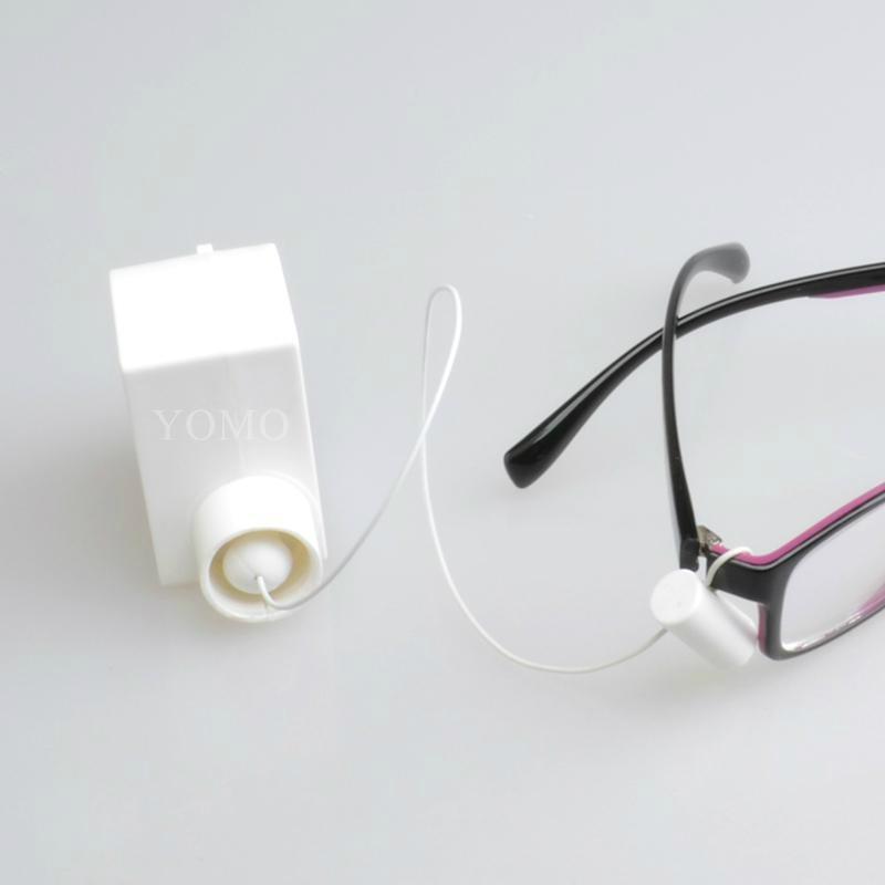 眼镜防盗钢丝拉线盒 自动伸缩拉线锁 易拉得 4