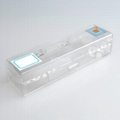 EAS Acrylic plastic toothpaste safer box
