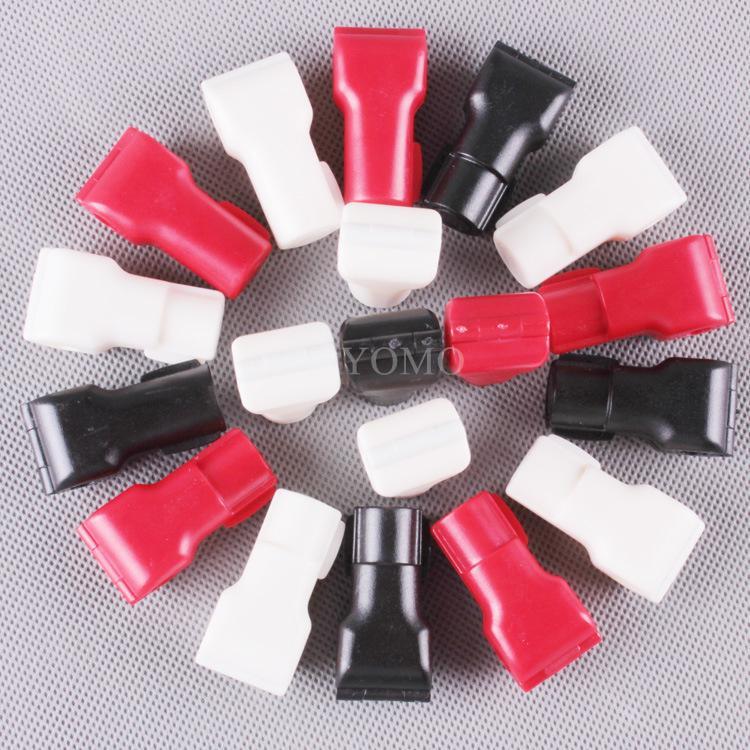 小紅鎖扣 商場貨架挂鉤鎖 配件展示架防盜扣 超市防盜挂鉤鎖 8