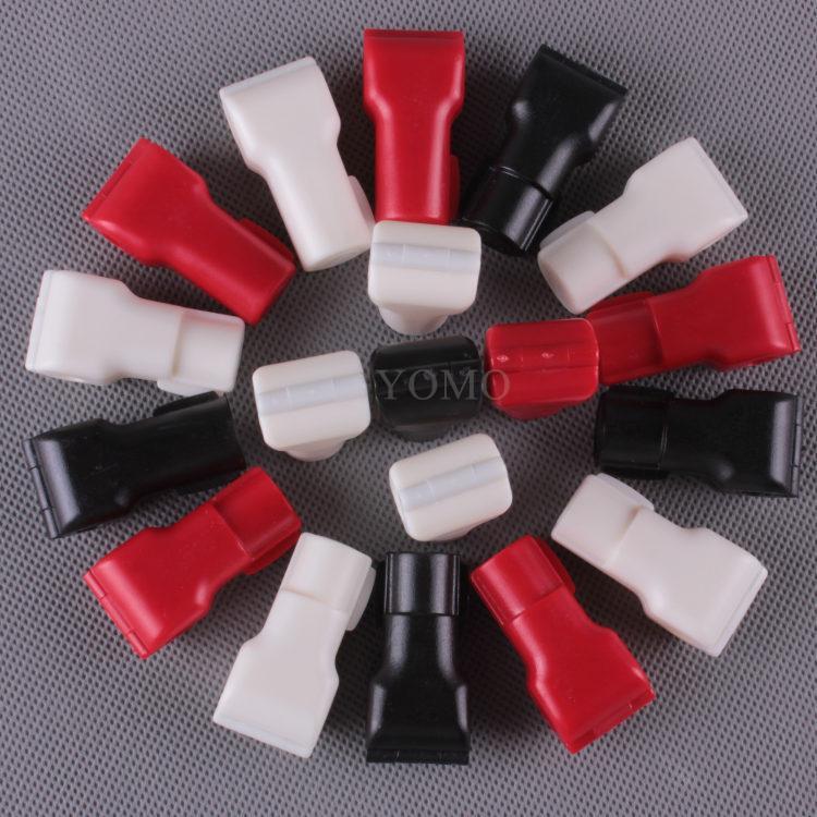 小紅鎖扣 商場貨架挂鉤鎖 配件展示架防盜扣 超市防盜挂鉤鎖 11