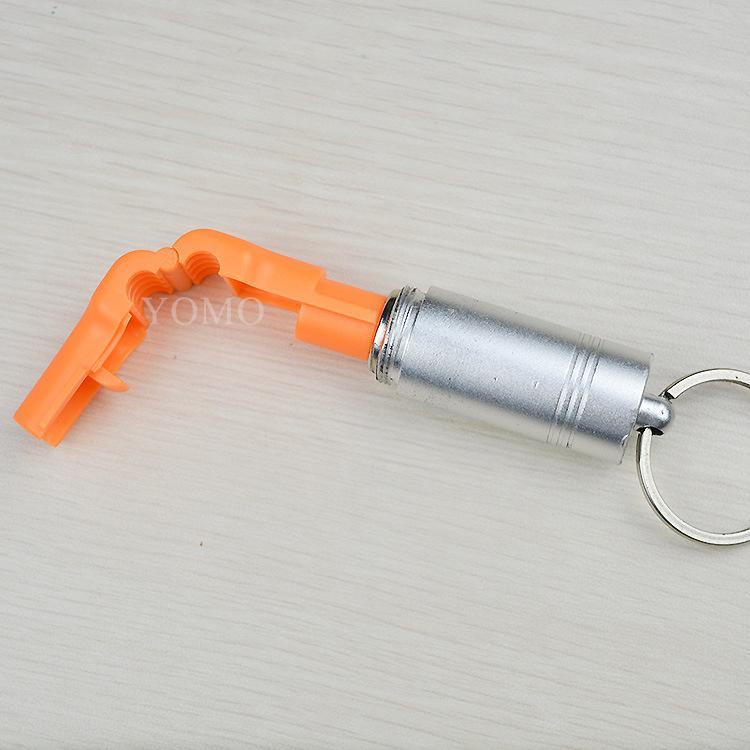 小紅鎖扣 商場貨架挂鉤鎖 配件展示架防盜扣 超市防盜挂鉤鎖 18