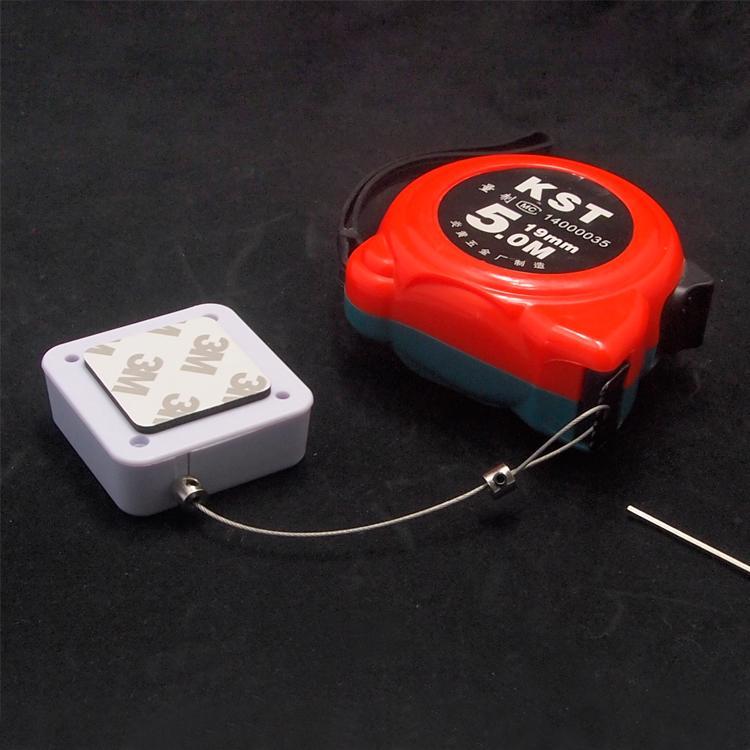 防盜展示鋼絲拉線盒 易拉扣 自動伸縮盒 1