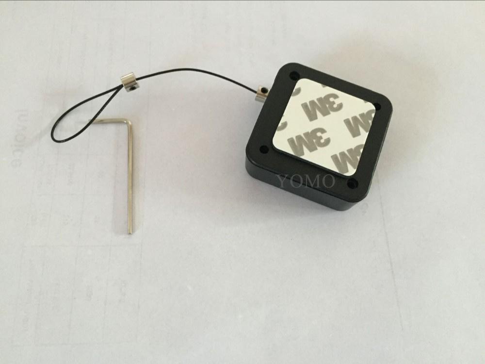 防盜展示鋼絲拉線盒 易拉扣 自動伸縮盒 10
