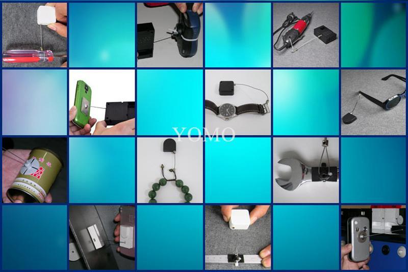 防盜展示鋼絲拉線盒 易拉扣 自動伸縮盒 12