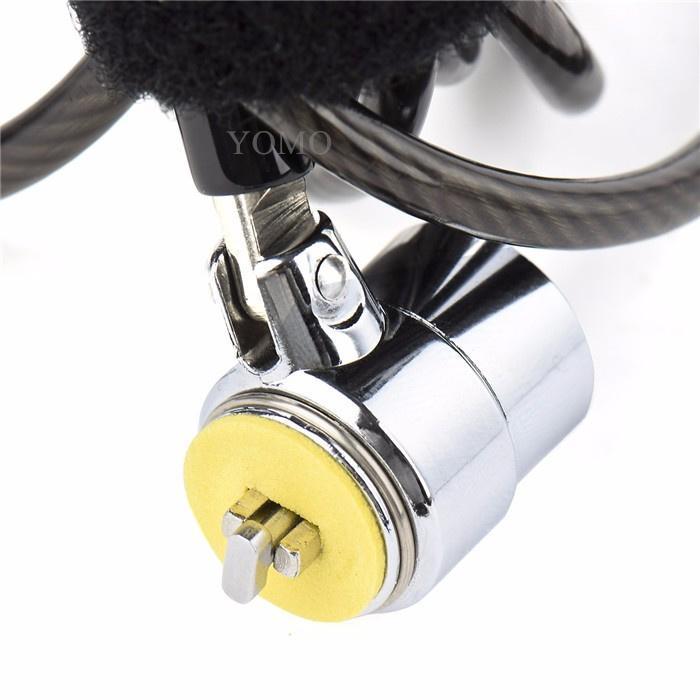 笔记本电脑锁 普通锁 钥匙锁 防盗加粗防剪笔记本锁 9