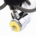 Universal Anti-Theft security lock cable for ipad / tablet / cell phone 9