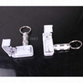 Retail Store EAS System White Color Abs Magnetic Anti Theft Stop Lock