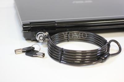 筆記本電腦鎖 普通鎖 鑰匙鎖 防盜加粗防剪筆記本鎖 7