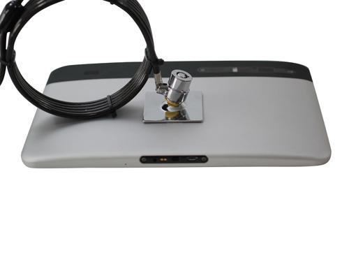 筆記本電腦鎖 普通鎖 鑰匙鎖 防盜加粗防剪筆記本鎖 4