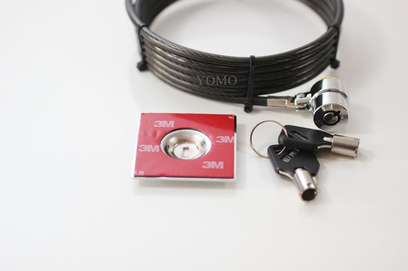 笔记本电脑锁 普通锁 钥匙锁 防盗加粗防剪笔记本锁 1