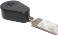Plastic Teardrop Pullbox Anti Theft Tether with Dog Tag Endfitting